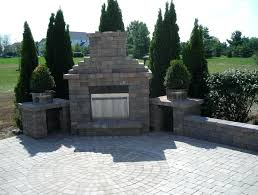 building your own outdoor fireplace building an outdoor fireplace with outdoor brick fireplace inserts