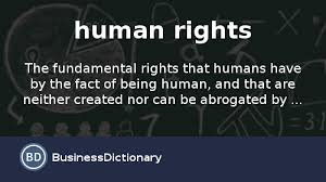 what are human rights definition and meaning com