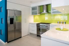 Kitchen White Base Kitchen Table Also Fresh Lime Green Backsplash Magnificent Stainless Steel Table With Backsplash Minimalist