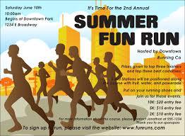 Fun Run Certificate Template Fun Run Invitation