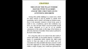 oliver twist by charles dickens chapter for english grammar oliver twist by charles dickens chapter 1 for english grammar club
