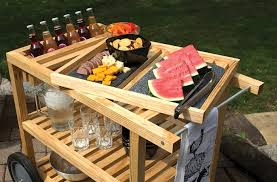 outdoor serving cart plans furniture plans and projects