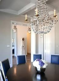navy leather french dining chairs with flea market chandelier paris circa lighting