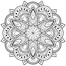 Mandala Coloring Pages Easy Cool Mandala Coloring Pages Lovely Cool