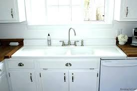 white kitchen sink with drainboard. Undermount White Kitchen Sink Porcelain Retro  Best Of Old Sinks Vintage With Drainboard R