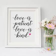 Love Is Patient Love Is Kind Quote Beauteous Best Love Is Patient Bible Verse Products On Wanelo