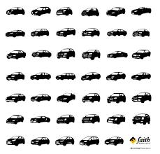 フリーの車のシルエット素材12選 Web制作ナビ