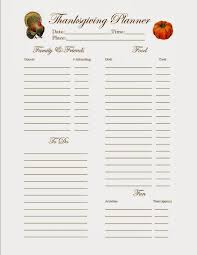 Printable Thanksgiving Dinner Grocery List Download Them Or Print