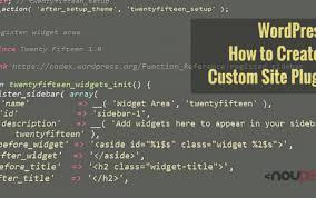 Wordpress How To Create A Custom Site Plugin Noupe