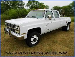 1991 91 Chevrolet Chevy Crew Cab Dually K30 V30 3500 1 one ton 4x4 ...