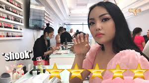 i went to the best reviewed nail salon