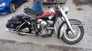 original unrestored 1957 harley davidson hydra glide pt 1 youtube