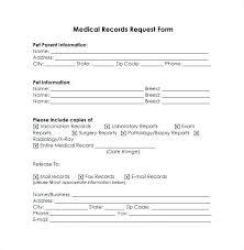 Medical Release Form Sample Adorable Free Medical Release Template Sample Form Information Records