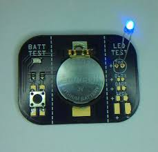 how to determine the polarity of an smd led led polarity checker