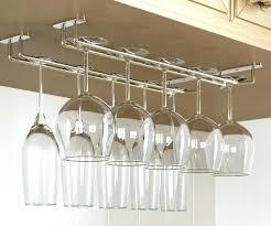 under cabinet wine glass rack. Delighful Under Under Cabinet Wine Glass Rack Brushed Nickel Stemware Canada With Under Cabinet Wine Glass Rack