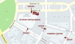 Parking Directions Michigan Opera Theatre