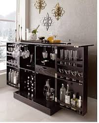 hidden bar furniture. Crate And Barrel Furniture Fold Out Bar Licquer Cabinet Hidden