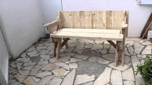Banc Table Convertible 2 En 1 Avec Plan Youtube