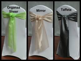 Sash Rentals U2013 Types Of Fabric | Organza Sheer