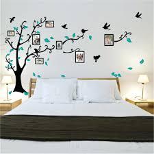 family tree stickers for wall family tree bird photo frame vinyl nursery wall decorated bedroom wall