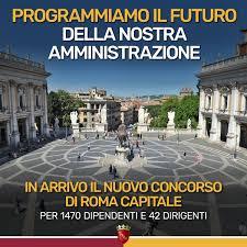 Concorso Comune di Roma 2020: 1.470 posti da dipendente e 42 da dirigente