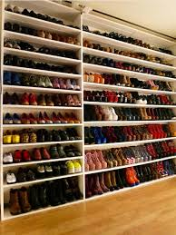 a great way to keep your shoes in order and looking aesthetically pleasing take your shoe organization ideas from the rainbow suggests kina