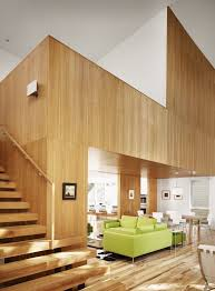 austin wood paneling entry modern with staircase chrome pendant lights stairs