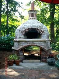 interior outdoor fireplace and pizza oven combination plans beautiful combo for from