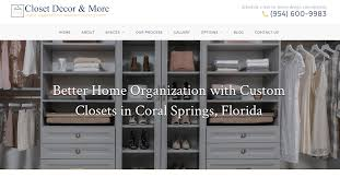 Closets By Design Reviews Florida Florida Custom Closet Organizers Closet Systems Design