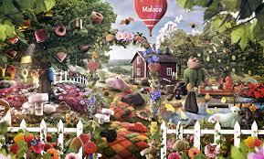 candy garden. Candy Garden Malaco Joonas Paloheimo Advanced Photoshop S