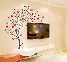 Buy Decals Design '<b>Beautiful</b> Magic Tree with Flowers' <b>Wall Sticker</b> ...