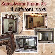 bathroom mirror frame. Pleasant Bathroom Mirror Frame Kits Tittle