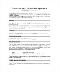 Sales Commissions Template Compensation Plan Template 11 Word Pdf Document Downloads Free