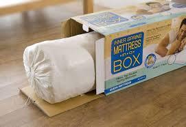 mattress in a box. amazon.com: textrade usa inner spring pillow top mattress in a box, queen: kitchen \u0026 dining box e