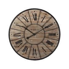 Horloge En Bois Et M Tal D 90 Cm Valmy Maisons Du Monde En Bois Sur Pinterest Horloge En Bois Horloges Murales Et Murs De