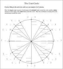 Unit Circle Practice Worksheet Pdf Psnworld