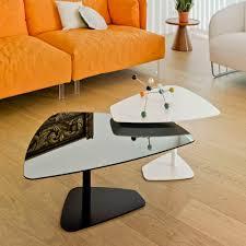 contemporary coffee table rock
