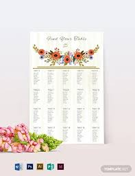 Seating Chart For Small Wedding 12 Seating Chart Examples Samples In Pdf Doc Examples