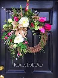 front door wreaths for summerDoor  Decorative Front Door Wreaths A Personal Favorite From My