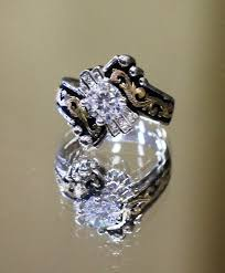 Country Style Promise Rings