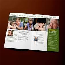 Campaign Brochure Capital Campaign Brochure Spread For Food Lifeline David