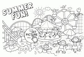 Summer Coloring Pages Kids Family Fun Page 3468 1200775 Attachments