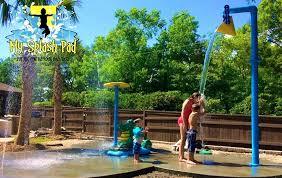 make a backyard water park elegant diy splash pad bitcoinfriendsub