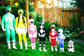 Light Blue Power Ranger Costume Coolest Power Rangers Costumes For A Family Halloween Costume