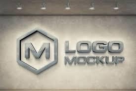 Logo Mock Up 7 Logo Mockups 3d Wall Mock Up