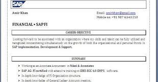 ABAP Fresher Resume Format sap resume sample sap basis resumes sap  insurance SAP Consultant Storeyline Resumes