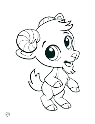 Cutest Animal Coloring Pages Baby Printable Coloring Pages Animals