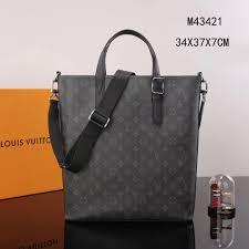 299 Copy lv1184 Damier Vuitton 00 M43421 Bag Tote Handbag Men Louis Shop Lv Apollo - Luxury Gray