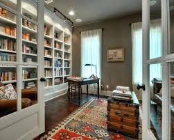 home office bookshelf. Office Bookshelf Inspiration For A Farmhouse Home Remodel In With Gray Walls
