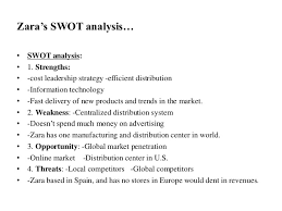 final zara marketing strategy  zara s swot analysis